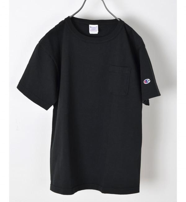 【シップス/SHIPS】 Champion×SHIPS AUTHENTIC: T1011 ポケット Tシャツ MADE IN USA□ [送料無料]