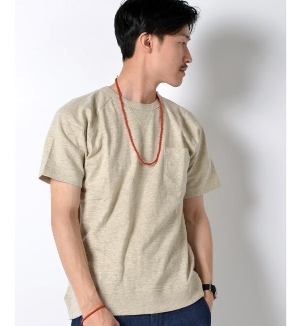 【シップス/SHIPS】 SA: ヘザー ラグラン ポケット Tシャツ [送料無料]