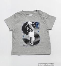 【シップス/SHIPS】 SHIPS KIDS:BLACK & WHITE SHAUN TEE(80?90cm) [送料無料]