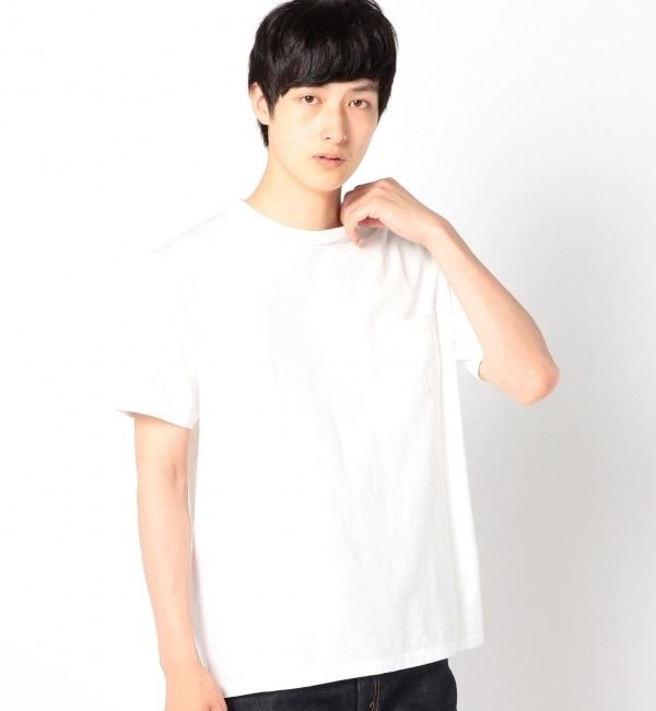 【シップス/SHIPS】 VELVA SHEEN: クルーネック ポケットTシャツ [送料無料]