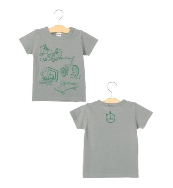 【シップス/SHIPS】 SHIPS KIDS:リフレクション プリント TEEシャツ(100?130cm) [送料無料]