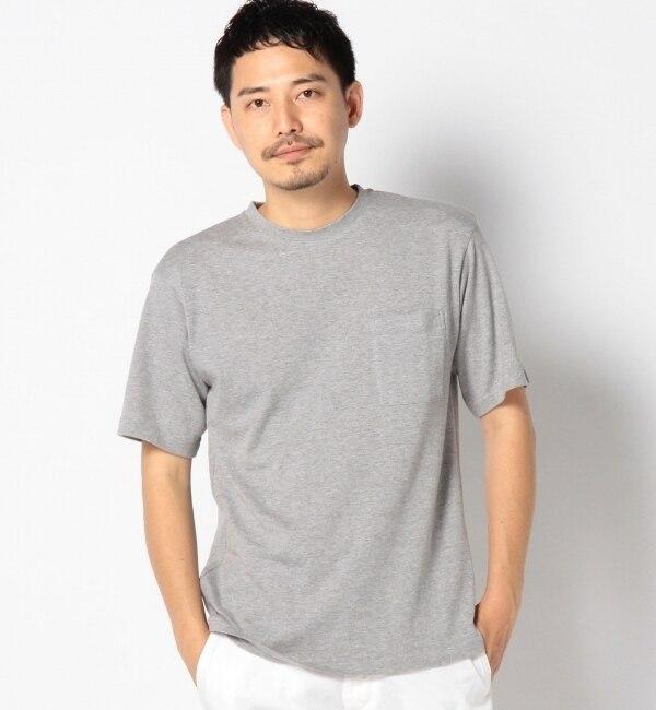 """【シップス/SHIPS】 SC: SHIPS(シップス) """"Smile Cotton"""" ドロップショルダー Tシャツ [送料無料]"""