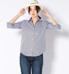 【シップス/SHIPS】THOMASMASONストライプシャツ[送料無料]