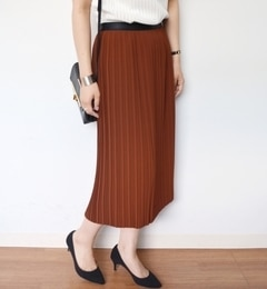 【シップス/SHIPS】 プリーツタイトスカート [送料無料]