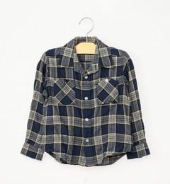 【シップス/SHIPS】 SHIPS KIDS:シャーリング チェック ロングスリーブシャツ(100?130cm) [送料無料]