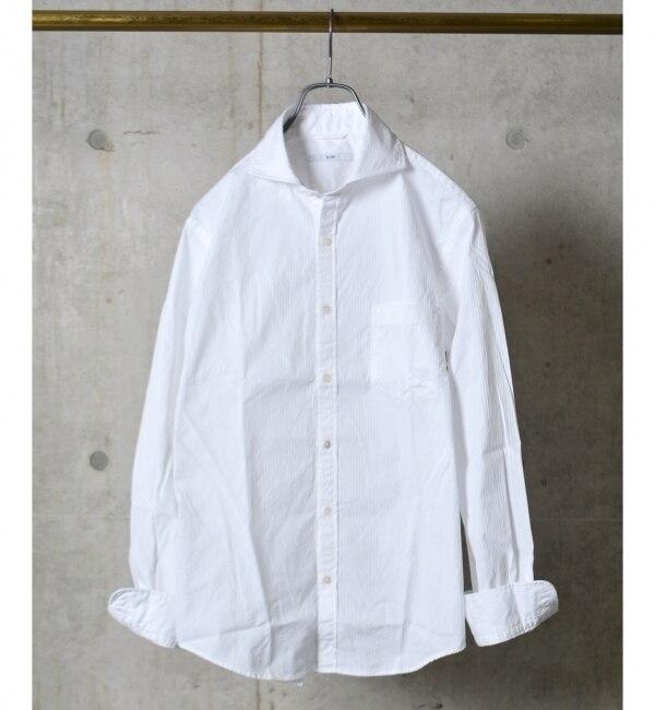 【シップス/SHIPS】 SC: SHIPS(シップス) 16FW ドビー織り ロンドンストライプ セミワイドカラー シャツ [送料無料]