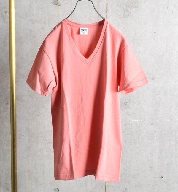 【シップス/SHIPS】 SHIPS JET BLUE: チューブ Vネック Tシャツ [送料無料]