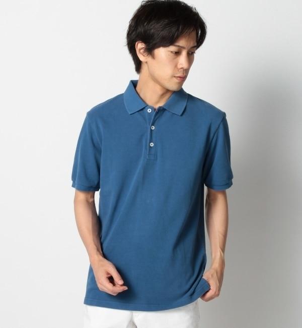 【シップス/SHIPS】 SHIPS JET BLUE(シップス ジェットブルー): インディゴ/ポロシャツ [送料無料]