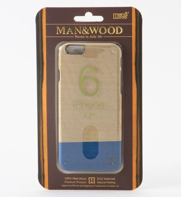 【シップス/SHIPS】 Man&Wood: 【iPhone6専用】 SLIM DOVE 6 モバイルケース [送料無料]