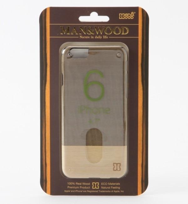 【シップス/SHIPS】 Man&Wood: 【iPhone6専用】 SLIM EINSTEIN 6 モバイルケース [送料無料]
