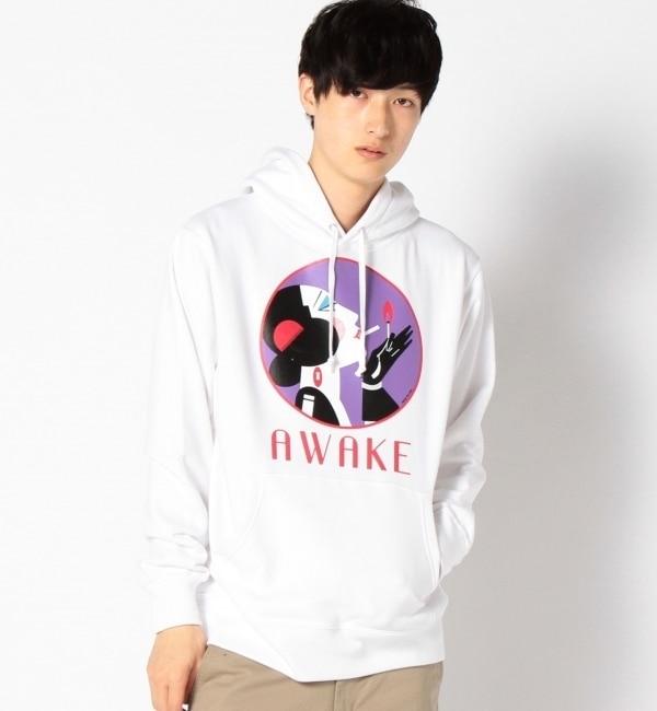 【シップス/SHIPS】 AWAKE(アウェイク): 【NUEVO】 プルオーバーパーカー [送料無料]