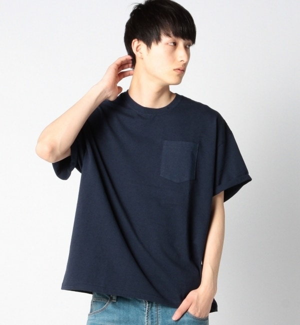 【シップス/SHIPS】 SHIPS JET BLUE: GILDAN ビッグTシャツ [3000円(税込)以上で送料無料]