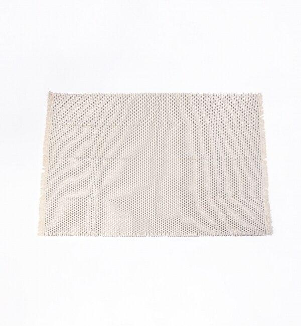 【シップス/SHIPS】 LULA MENA: 124x185 ブランケット (ネイビー) [送料無料]