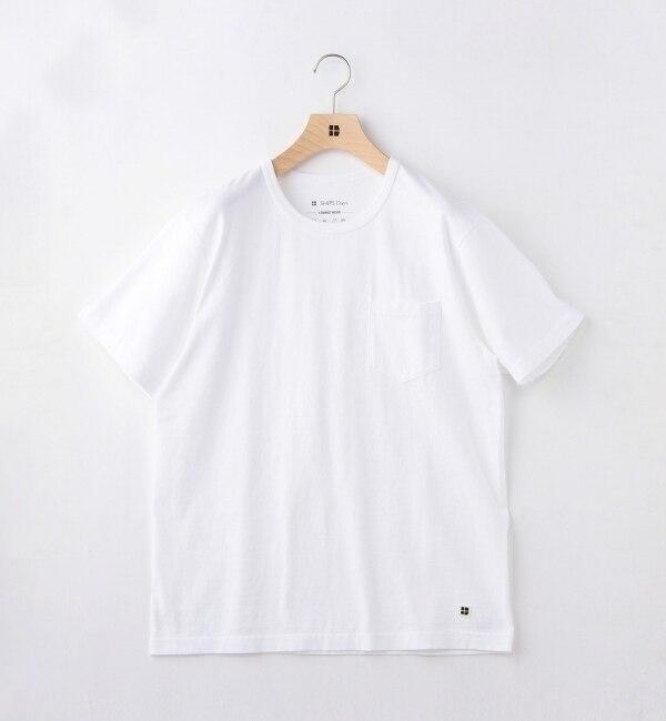 【シップス/SHIPS】 Days: サーキュラー ポケット Tシャツ [送料無料]