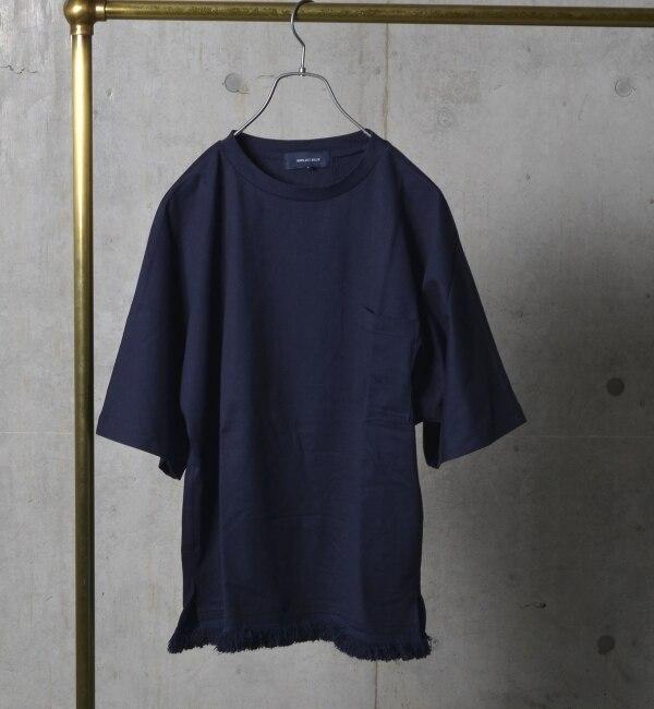 【シップス/SHIPS】 SHIPS JET BLUE: フリンジTシャツ [送料無料]