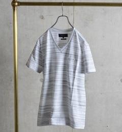 【シップス/SHIPS】 SHIPS JET BLUE: コブラボーダーTシャツ [送料無料]