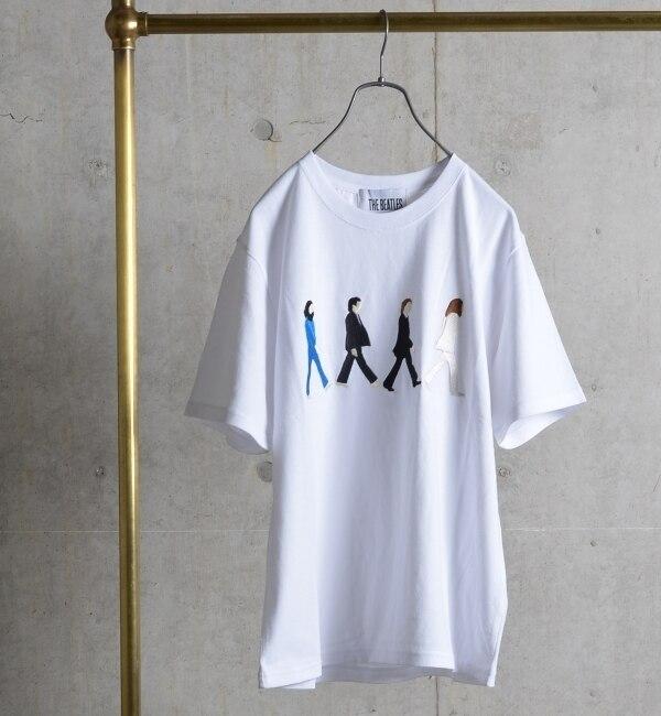 【シップス/SHIPS】 SHIPS JET BLUE: 【BEATLES】 Tシャツ 16ss [送料無料]
