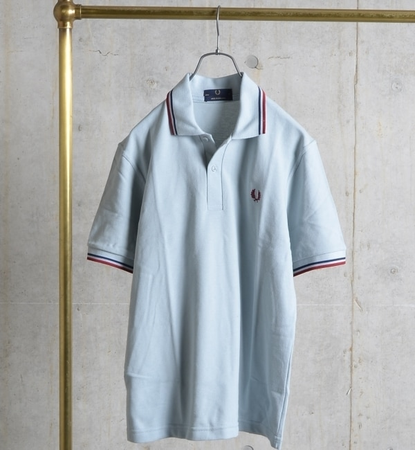 【シップス/SHIPS】 FRED PERRY: 英国製/ポロシャツ [送料無料]