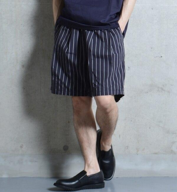 モテ系メンズファッション|【シップス/SHIPS】 SHIPS JET BLUE: ワイドシルエット ショーツ [送料無料]
