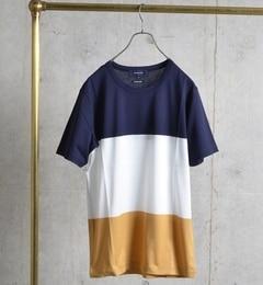 【シップス/SHIPS】 SHIPS JET BLUE: 3パネル Tシャツ [送料無料]