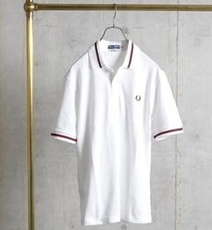 【シップス/SHIPS】 FRED PERRY: 英国製 / M3N ライン ポロシャツ [送料無料]