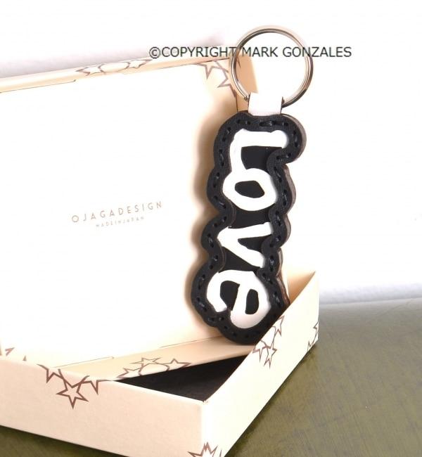 【シップス/SHIPS】 OJAGA DESING×Mark Gonzales: Loveキーホルダー [送料無料]