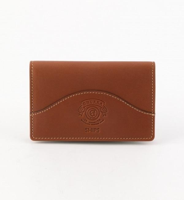 【シップス/SHIPS】 GHURKA(グルカ): CARD CASE 201 [送料無料]
