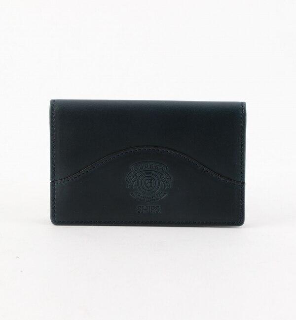 【シップス/SHIPS】 GHURKA(グルカ): CARD CASE NAVY CLXL 201