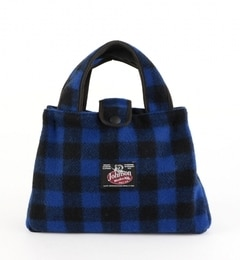 <アイルミネ> ★送料無料!JOHNSON WOOLEN MILLS:BITTY BAG(BLUE)画像