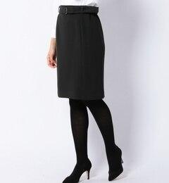 【シップス/SHIPS】ベルトタイトスカート[送料無料]