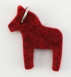 <アイルミネ> ULLCENTRUM: フェルト キーリング(HORSE)画像