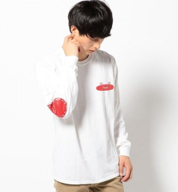 【シップス/SHIPS】 THE DAY: エルボーパッチ ロングスリーブTシャツ [送料無料]