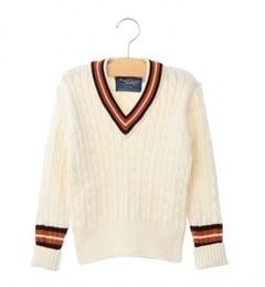 【シップス/SHIPS】 Balmoral Knitwear:クリケット セーター(100?150cm) [送料無料]