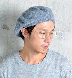 【シップス/SHIPS】 C-PLUS HEADWEARS: ウールベレー帽 [送料無料]