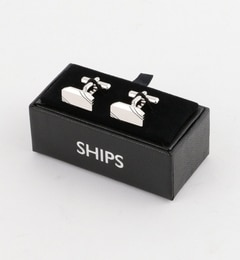 【シップス/SHIPS】 SD: 2ライン スクエア カフスリンクス [送料無料]