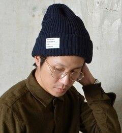 【シップス/SHIPS】 SHIPS JET BLUE(シップス ジェットブルー): ニットキャップ(ニット帽)made in JAPAN [3000円(税込)以上で送料無料]