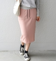 【シップス/SHIPS】サイドラインスカート[送料無料]