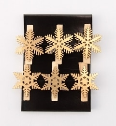 【シップス/SHIPS】 SPICE:クリスマス クリップ(ゴールド) [3000円(税込)以上で送料無料]