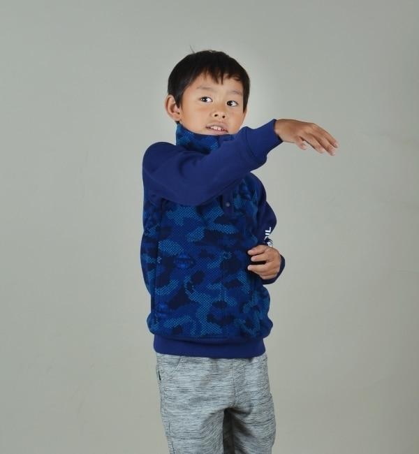 【シップス/SHIPS】 ATHLETA★★★SHIPS KIDS:フリース×裏毛 パーカー 2(100?130cm) [送料無料]