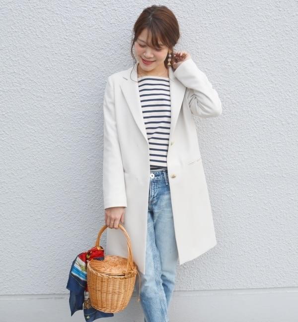 【シップス/SHIPS】 ■追加予約■Khaju:チェスターコート 17SS■ [送料無料]