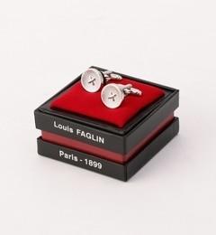 【シップス/SHIPS】 LOUIS FAGLIN: シルバーボタン カフリンクス [送料無料]