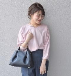 【シップス/SHIPS】 ドルマンプルオーバー(ピンク) [送料無料]