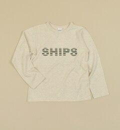 【シップス/SHIPS】 SHIPS KIDS:インセクトシールド【虫よけ】 長袖ロゴTEE(145?160cm) [送料無料]