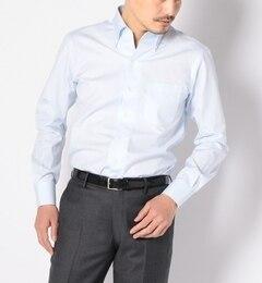 【シップス/SHIPS】 SD: 『ALBINI社製生地』 ドビーストライプ イタリアンボタンダウンシャツ [送料無料]