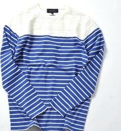 【シップス/SHIPS】 SHIPS JET BLUE: リンクス ボーダーTシャツ [送料無料]