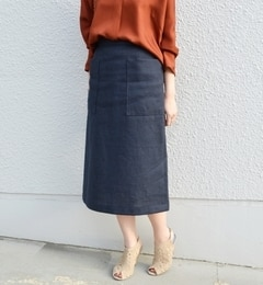 【シップス/SHIPS】PreferSHIPS:ポケットスカート[送料無料]