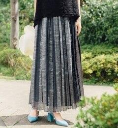 【シップス/SHIPS】 muller of yoshiokubo:【SHIPS別注】 プリーツスカート [送料無料]