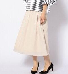 【シップス/SHIPS】ギャザースカート[送料無料]