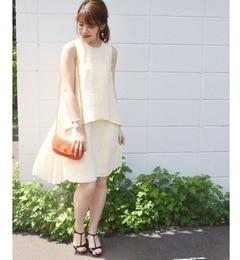 【シップス/SHIPS】 muller of yoshiokubo:【SHIPS別注】 プリーツドレス [送料無料]