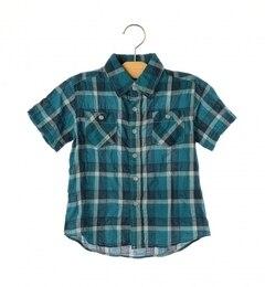 【シップス/SHIPS】SHIPSKIDS:シャーリングチェックシャツ(100?130cm)[送料無料]